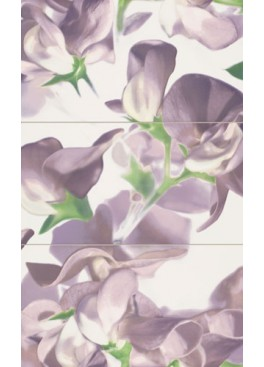 Dekorace Colour Bloom Violet 59,3x98,5 (3 ks)