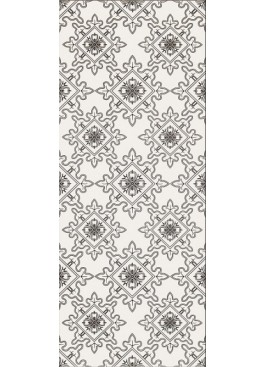 Obklad Black And White Pattern E 20x50