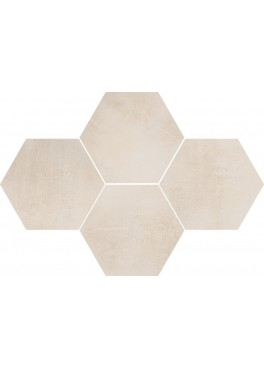 Dlažba Stark Cream Mosaic Hexagon 28,3x40,8