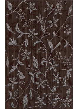 Dekor Tanaka Brown Flower 25x40