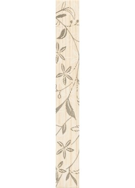 Listela Tanaka Cream Border Flower 5x40